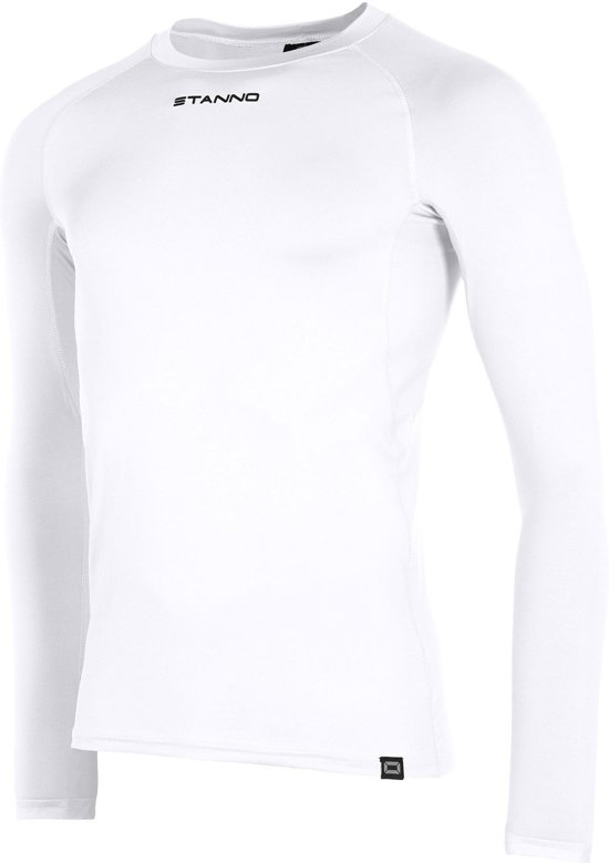 Stanno Functional Sports Thermo  Sportshirt performance - Maat M  - Unisex - wit