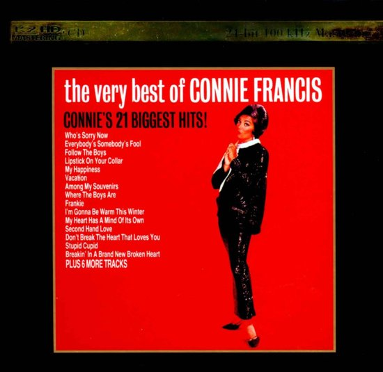 Bolcom The Very Best Of Connie Francis Connie Francis Cd