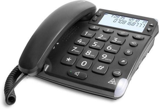 Doro Magna 4000 Analogue design desk phone black