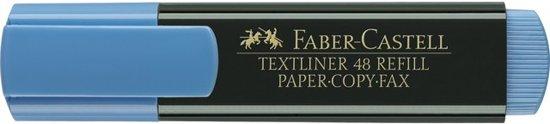 tekstmarker Faber Castell 48 blauw
