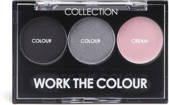 Collection Work The Colour Trio Oogschaduw - 3 Smoke Screen