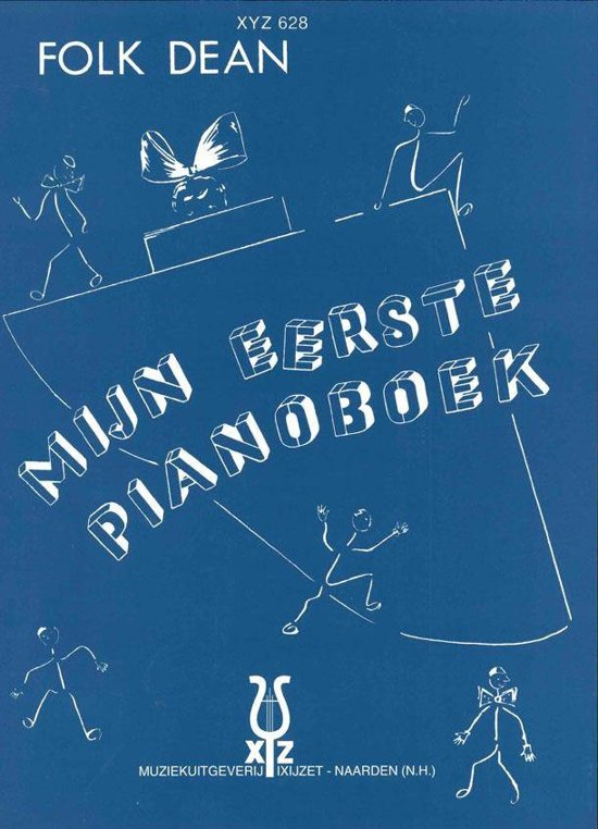 Boek cover Mijn Eerste Pianoboek van Folk Dean (Onbekend)