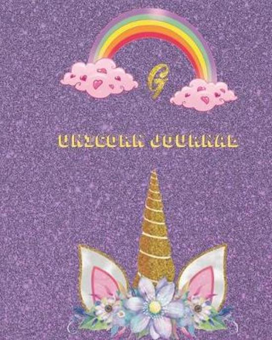 Unicorn Journal G: An activity book for writing and drawing for girls with your favorite character