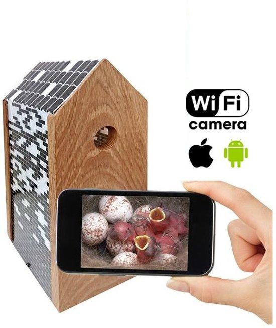 Meuwissen Agro Vogelhuisje Bricks met WiFi Camera - Vogelhuisje