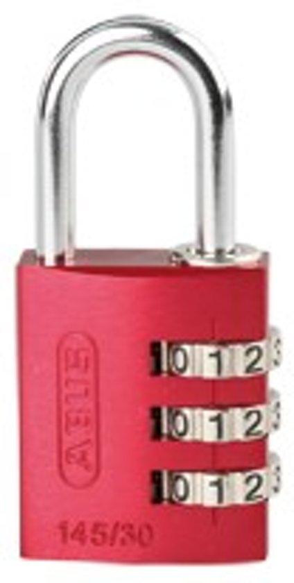 ABUS combinatie-cijferslot Serie 145, aluminium, beugel 30 mm