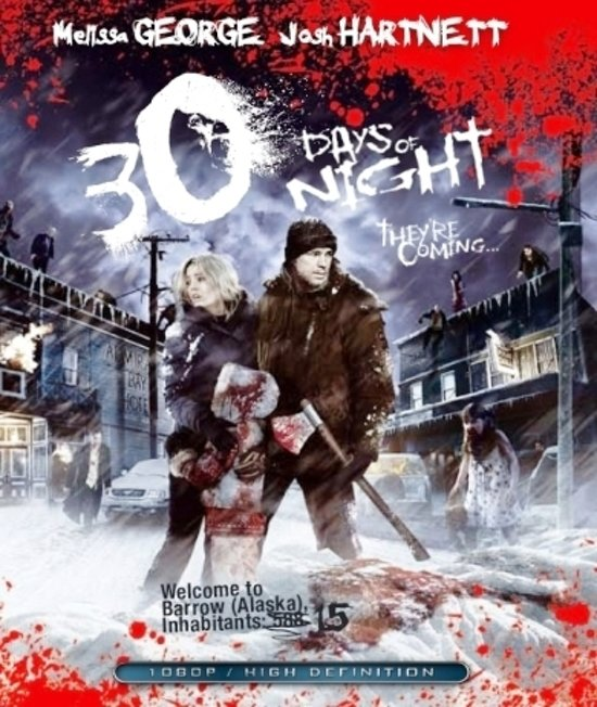 DVD cover van 30 Days Of Night