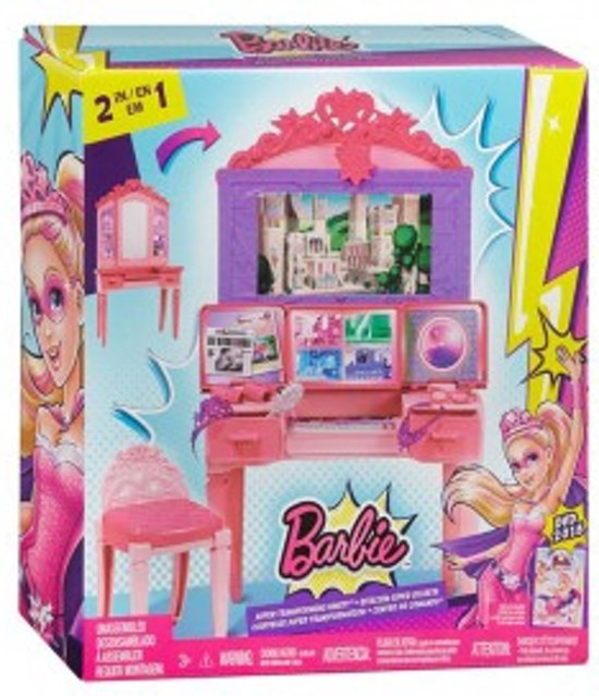 Barbie SuperHero Vanity Speelset