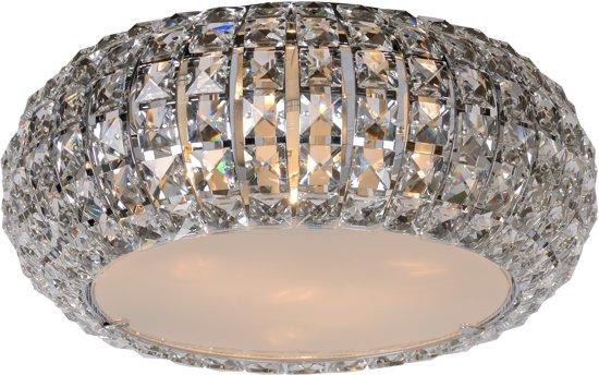 Plafonniere Met Kristallen : Bol lucide fontodi plafonniere chroom