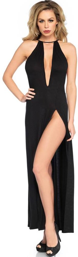 jurk lang split