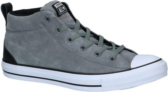 Converse - As Mid - Sneaker hoog gekleed - Heren - Maat 44 - Grijs;Grijze -  Mason