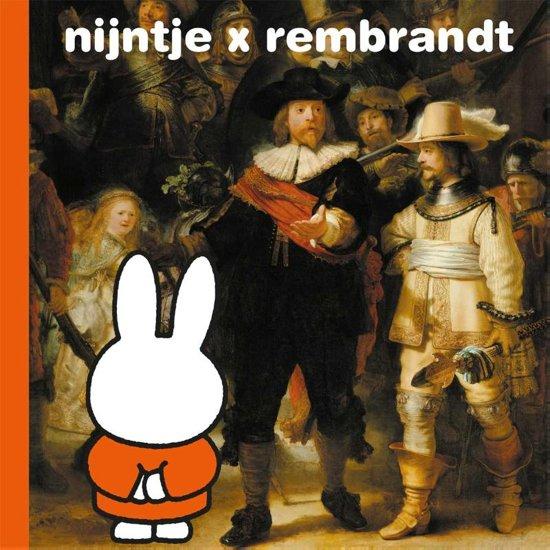 Boek cover nijntje x rembrandt van Dick Bruna (Onbekend)