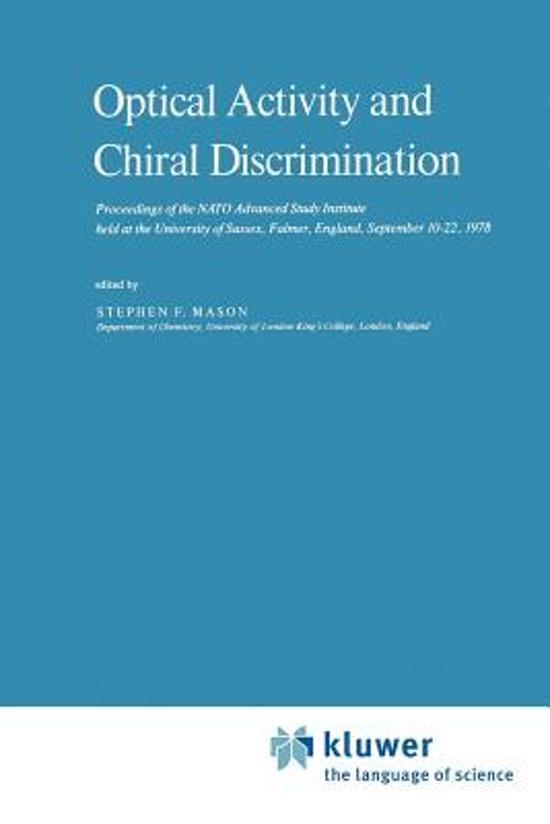 Optical Activity and Chiral Discrimination
