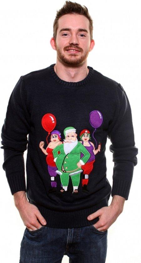 Kersttrui Cool Santa - maat L - foute kersstrui voor volwassenen Valentinaa