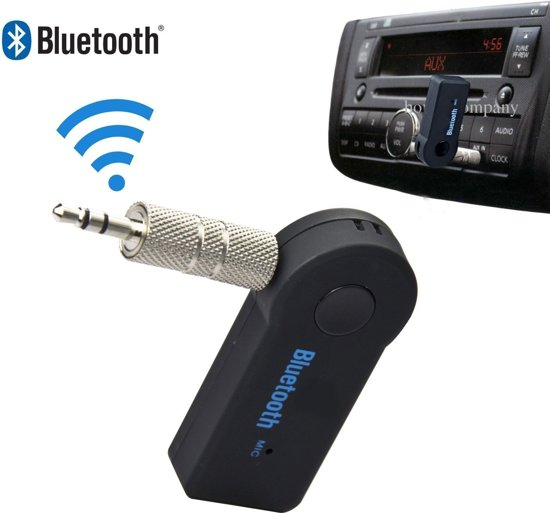 AUX Bleutooth Draadloze Ontvanger | Muziek streamen via Bluetooth |Handsfree carkit en thuisgebruik | MP3 Player 3.5mm | Bluetooth 3.1 Speaker