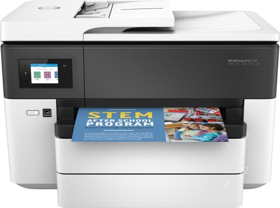 HP Officejet Pro 7730 - All-in-One A3-Printer