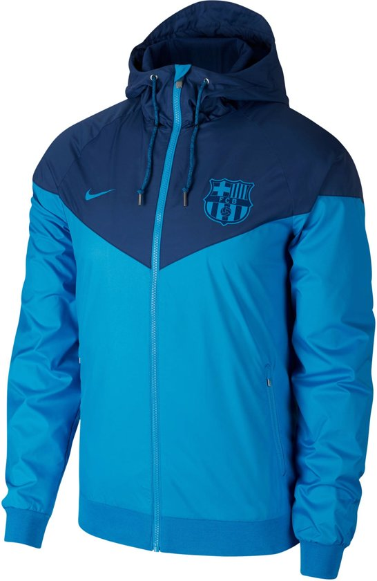 2fc1b6146cea Nike FC Barcelona Windrunner Jacket Heren Sportjas - Maat S - Mannen - blauw