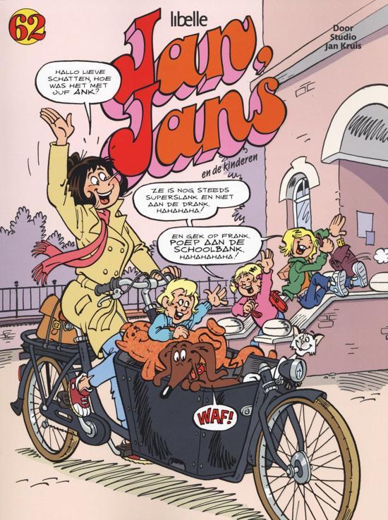 Boek cover Jan, Jans en de kinderen 62 van Sanoma Media NL. (Paperback)
