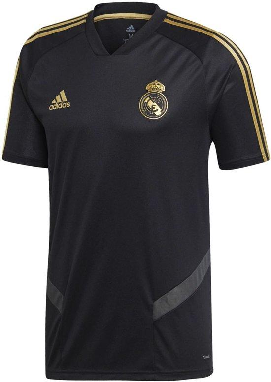 adidas Real Madrid Trainingsshirt 2019/2020 Heren - Zwart - Maat XL