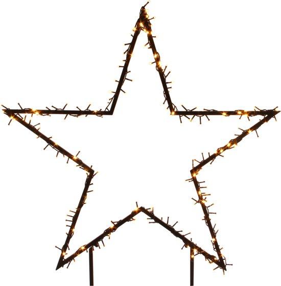 Verlichte ster voor in de tuin 135 cm - 350 LED lampjes Valentinaa