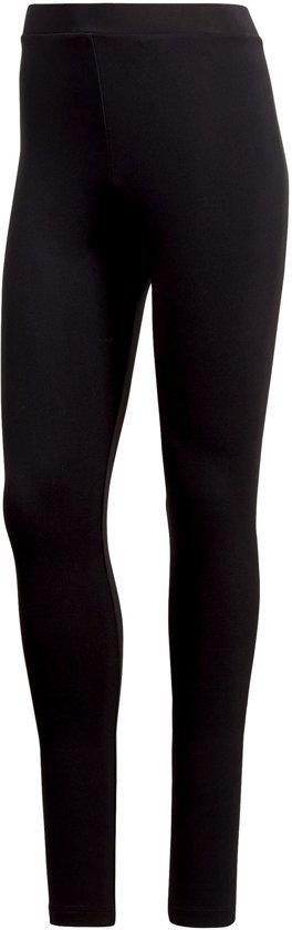 5672d186dcd adidas Originals Trefoil Legging Sportbroek performance - Maat 38 - Vrouwen  - zwart