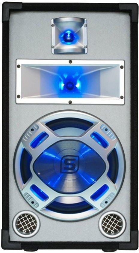 Skytec Disco Witte Speaker 10inch 400W LED