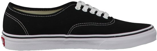Sneakers Dames Maat Authentic Vans Zwart 39 Wmn f546wwUq