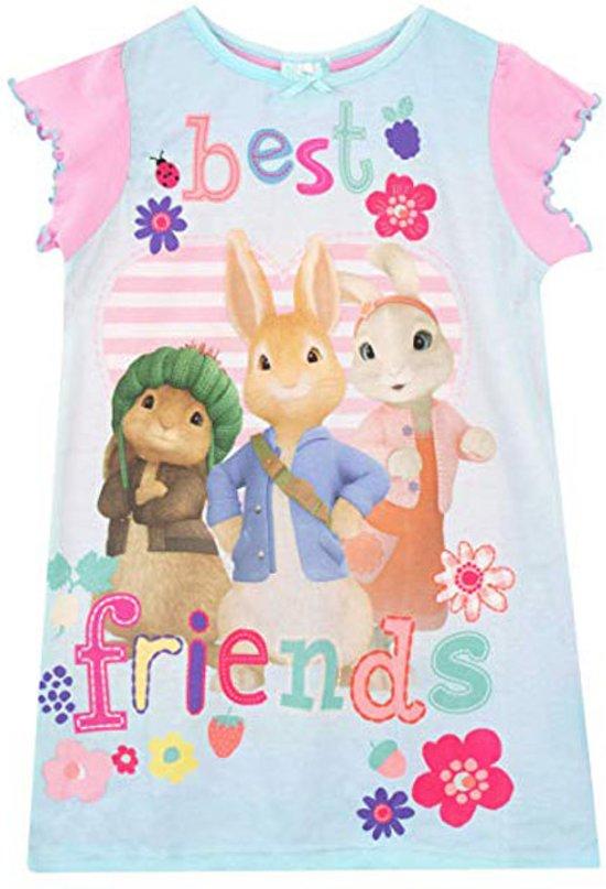 Pieter Konijn / Peter Rabbit - Peuter/Kleuter/ Kinder nachthemd/nachtjapon - maat 110/116