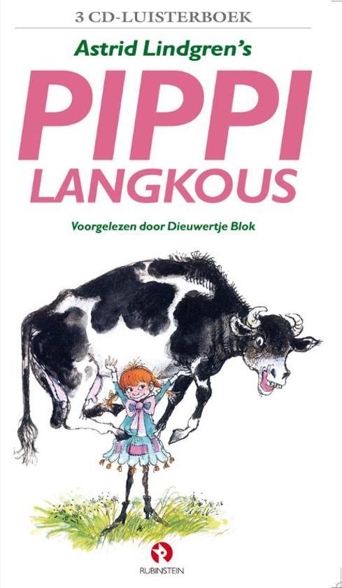 Pippi Langkous, 3 cd's (luisterboek)