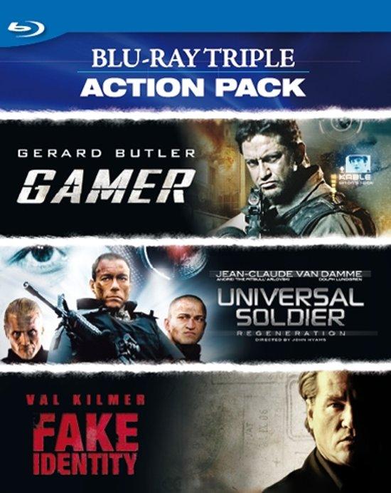 Cover van de film 'Triple Action Pack'