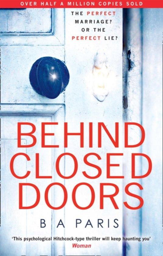 Boek cover Behind closed doors van b. a. paris (Paperback)