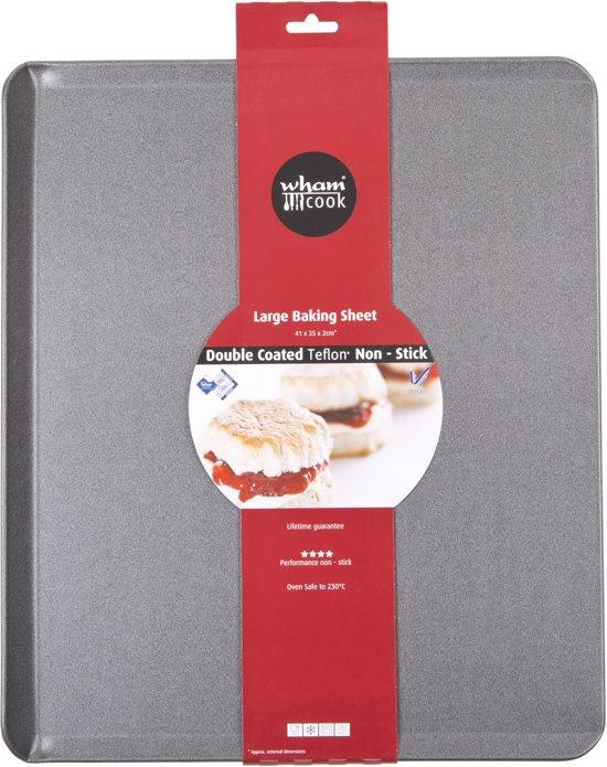 Wham Cook Essentials Bakplaat - Non Stick - Groot Valentinaa