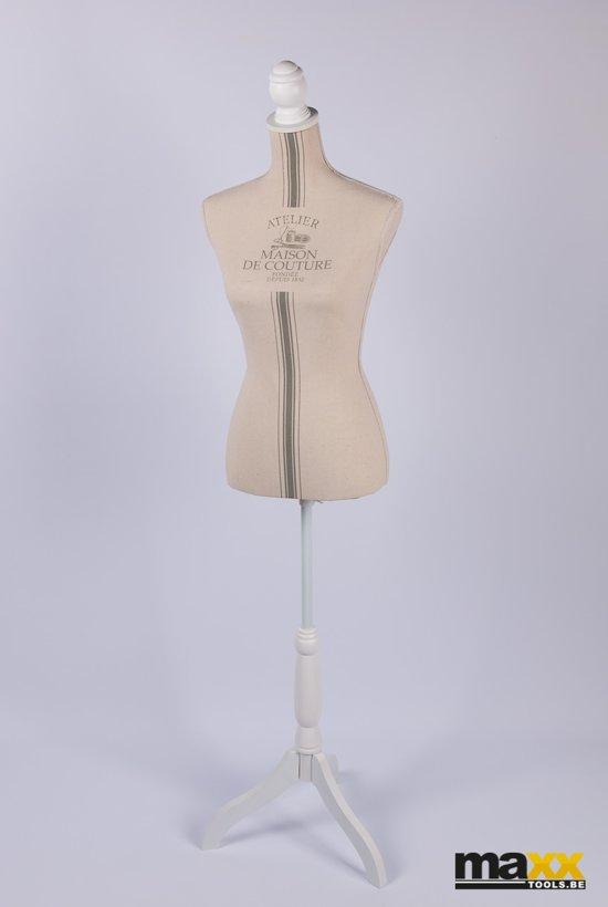 Maxx Déco paspop - etalagepop - dames mannequin 160cm WITTE voet