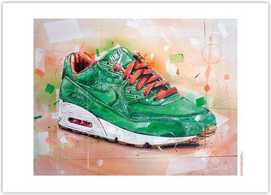 Nike Air Max 90 x Patta homegrown print 70x50cm