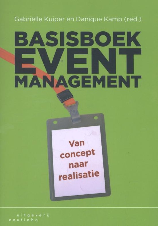 Basisboek eventmanagement