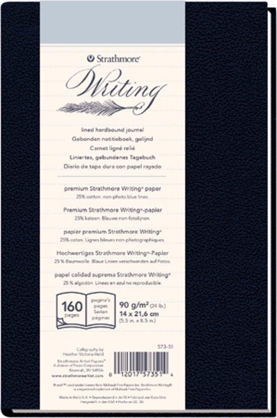 500 series schrijf papier 14x21,6cm 90g/m² 80 pagina's in een hard gebonden boek