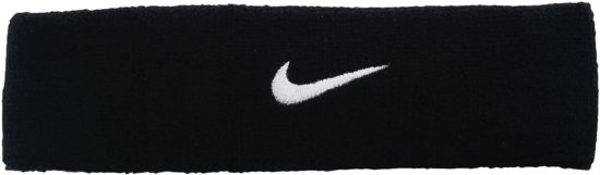 Nike Swoosh Hoofdband - Accessoires  - zwart - ONE