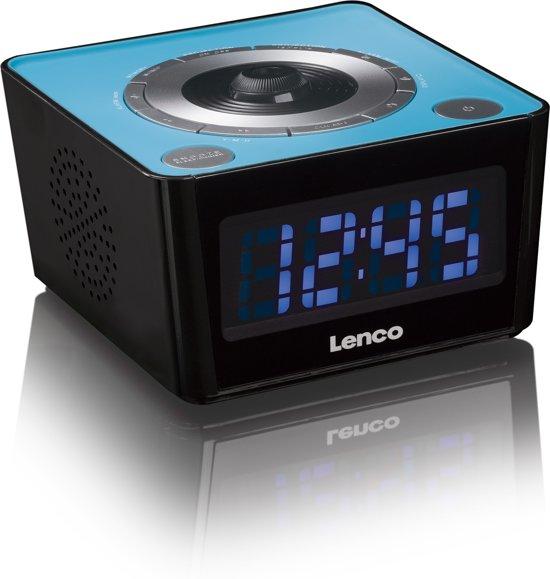 Lenco CR-16 Wekkerradio met Projectiefunctie 6,8 x 12,1 cm