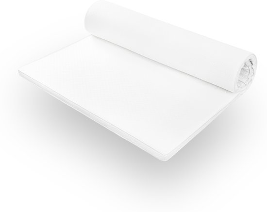 Lumaland - Matras topper - Comfort schuim - Visco elastisch orthopedisch topdekmatras - 180 x 200 cm + 5 cm