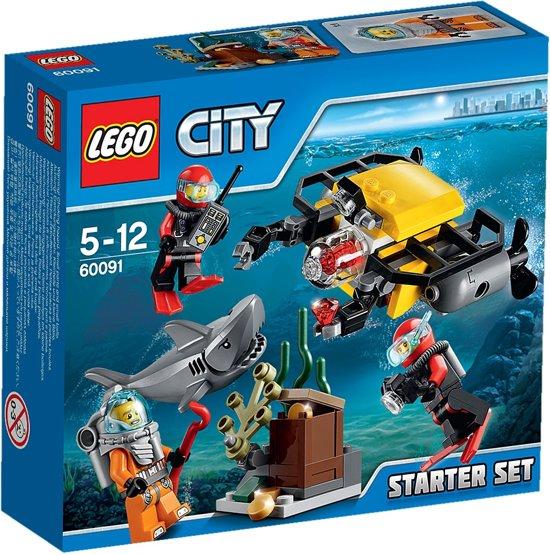 LEGO City Diepzee Starter Set - 60091