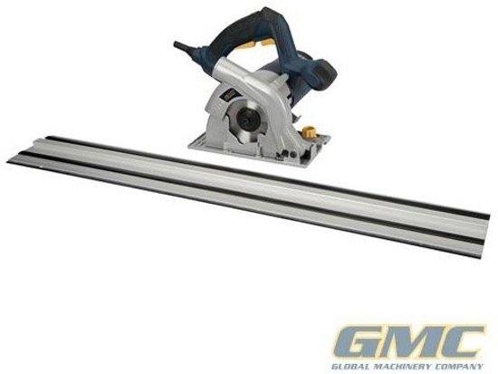 GMC 110 mm compacte vrije inval cirkelzaag en rails set