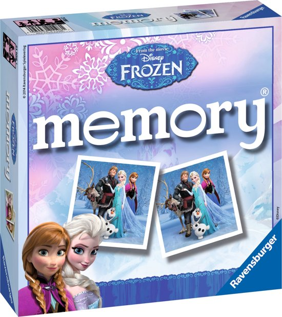 Thumbnail van een extra afbeelding van het spel Ravensburger Disney Frozen memory®