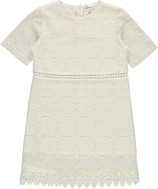 witte jurk maat 152
