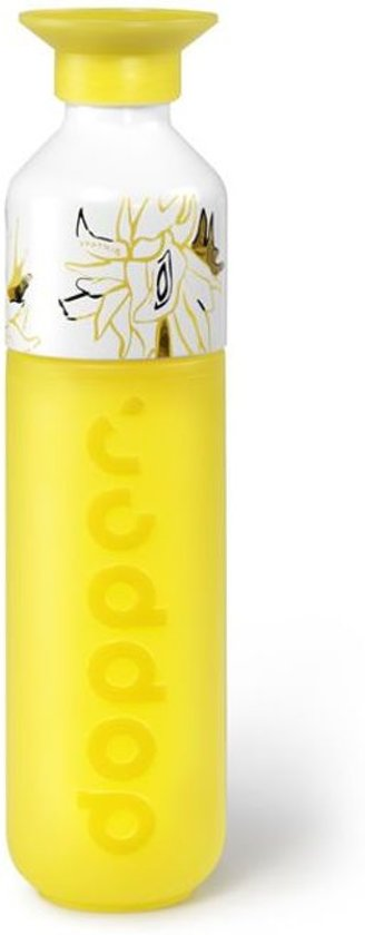 Dopper Original Drinkfles - 450 ml - van Gogh Sunflower Yellow - Special Edition
