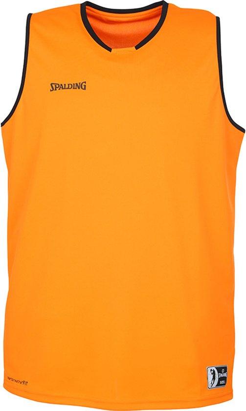 Spalding Move Tanktop Heren  Basketbalshirt - Maat S  - Mannen - oranje/zwart