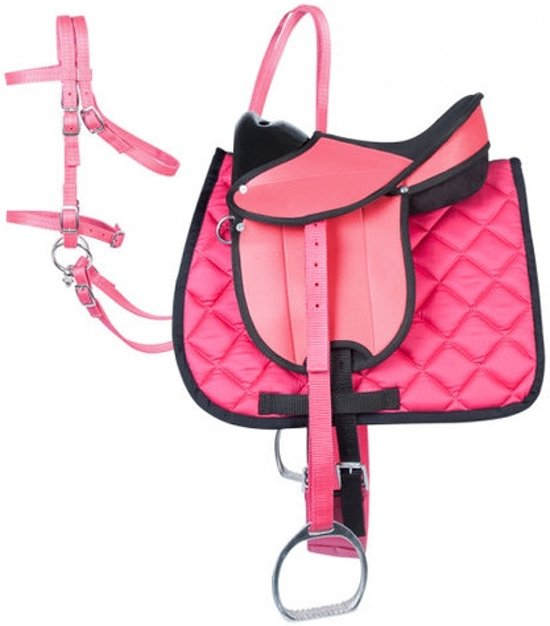 PFIFF Complete uitrustingsset Shetty Shetty Zwart-pink