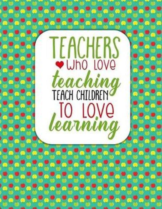 Bolcom Teacher Thank You Teachers Who Love Teaching Simple