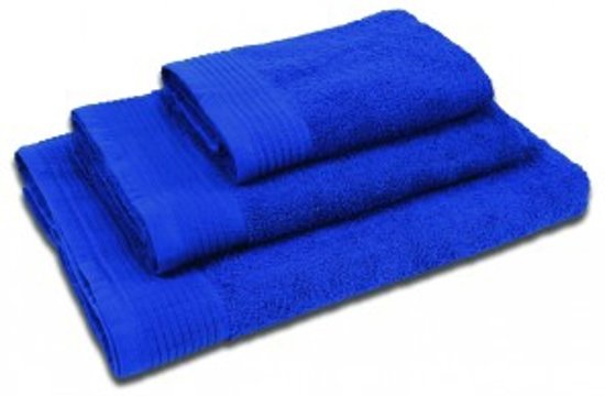 The One Badhanddoek 450 gram 70 x 140 cm Royal Blue