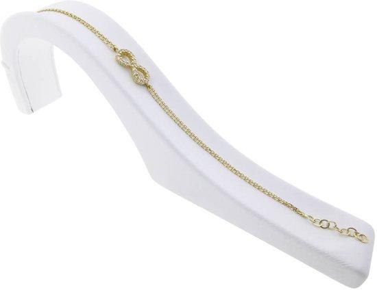Christian gouden Infinity armband