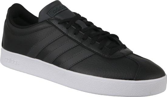 57d10f78cb1 bol.com | Adidas VL Court 2.0 B43816, Mannen, Zwart, Sneakers maat ...