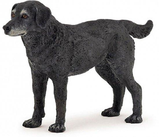 plastic speelgoed zwarte hond 10 cm kopen. Black Bedroom Furniture Sets. Home Design Ideas